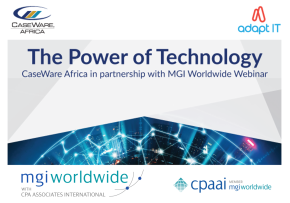 MGI World Abstract backgroud for CaseWare Africa webinar