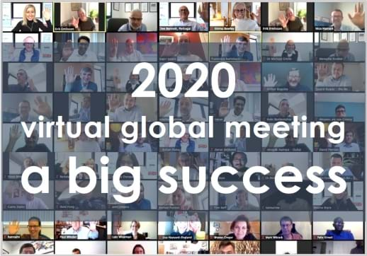 MGI World 2020 MGI Worldwide with CPAAI Virtual Global Meeting - virtual attendees montage