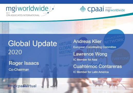 MGI World MGI Worldwide CPAAI 2020 Global Update