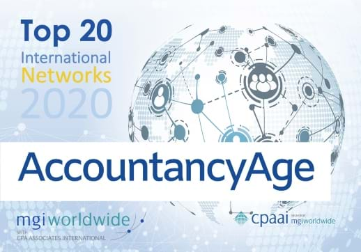 MGI World Accountancy Age Top 20 Global Ranking