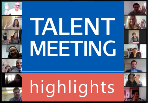MGI World MGI Talent Meeting attendees faces collage