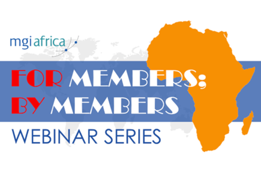 MGI World FOR MEMBERS, BY MEMBERS series of webinars image