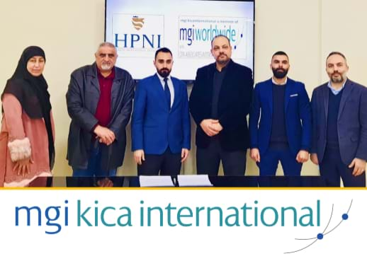 MGI World Rabih Kerbaj and team from MGI KICA