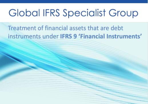 MGI World Blue abstract line graphic with Global IFRS Specialist Group text