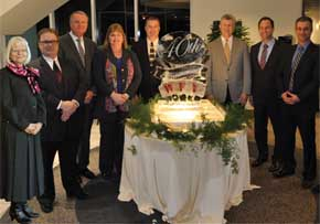 MGI World MGI Worldwide North America Area news item, member accounting firm Wright, Ford & Young celebrating 40th Anniversary image