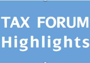 MGI World MGI Worldwide UK & Ireland Area news item, tax forum highlights slide