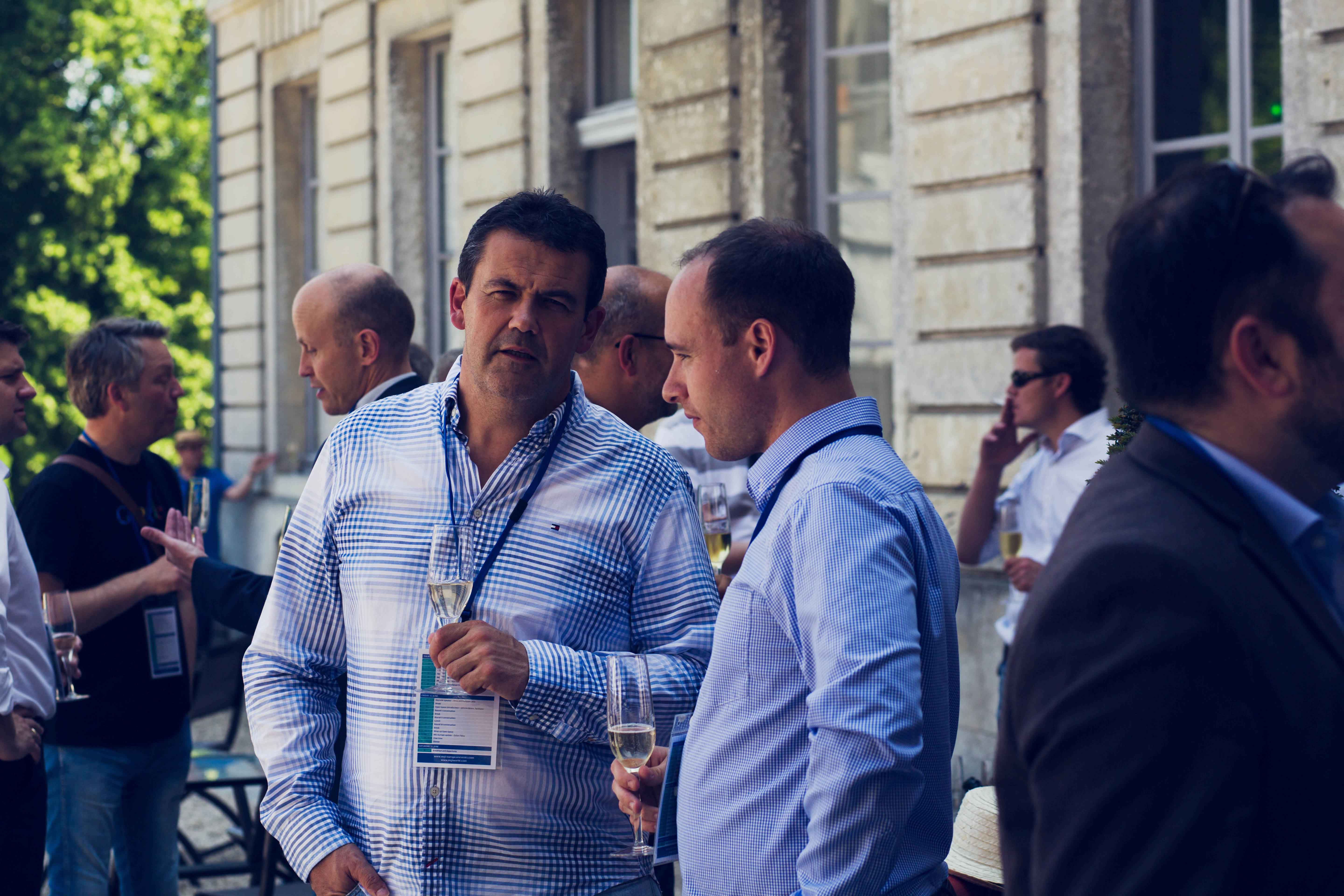 MGI World MGI Worldwide Europe Area Meeting 2015, Le Grand Mello, accounting delegate Nico Hansen outdoors image