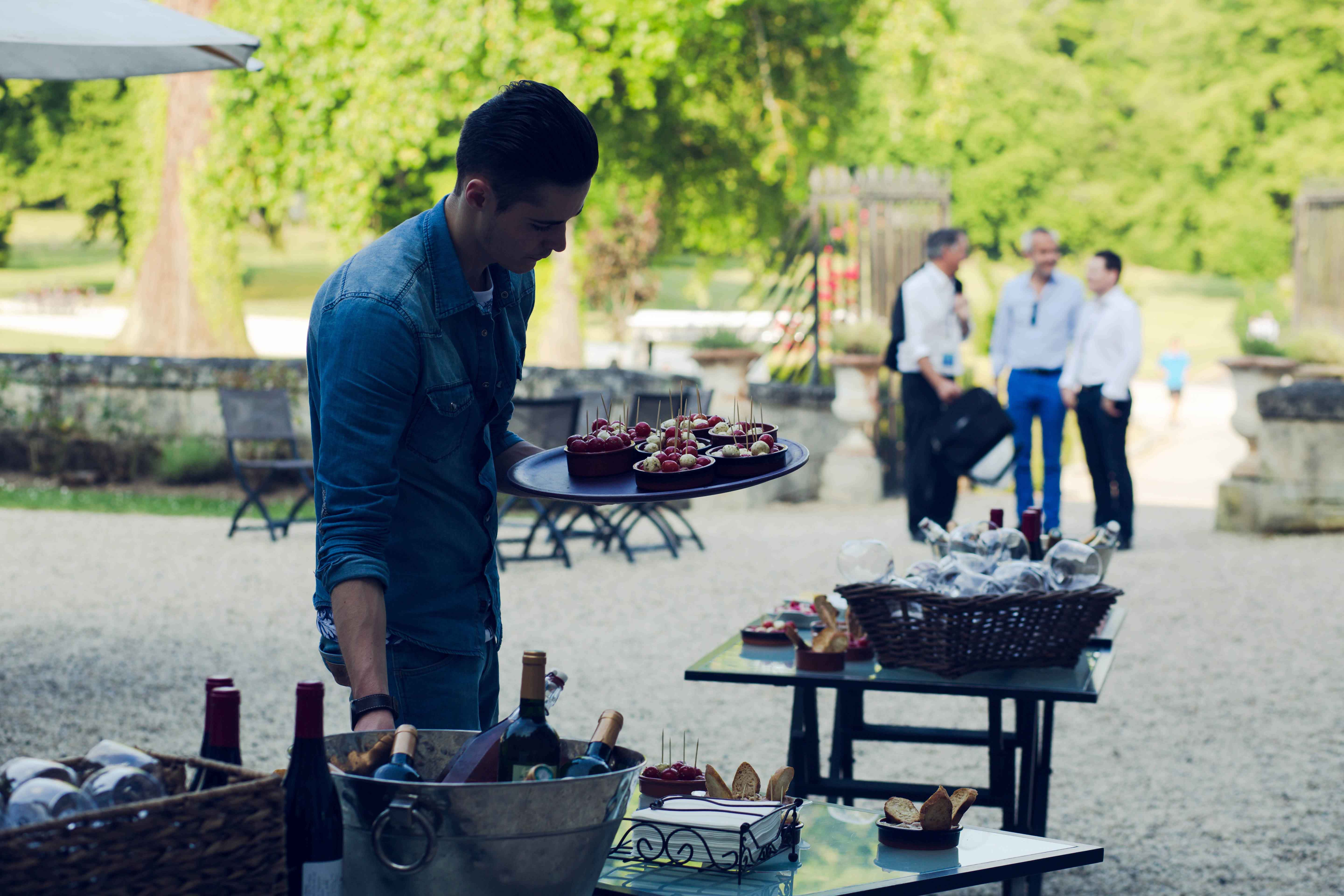 MGI World MGI Worldwide Europe Area Meeting 2015, Le Grand Mello, outdoors lunch buffet image 3