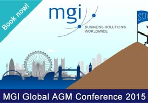 MGI World MGI Worldwide Global AGM Conference London 2015, Book Now slide