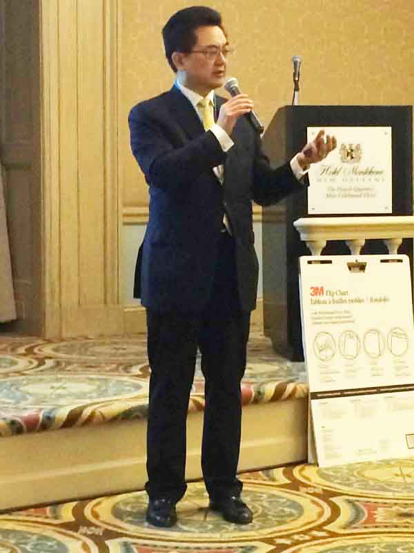 MGI World MGI Worldwide North America Area Meeting 2015, New Orleans Paul Lam presentation image