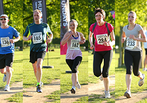 MGI World  MGI Worldwide UK & Ireland Area news item, Midgley Snelling Llp And Rickard Keen Raise Money For Charity, image of 5 runners