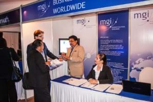 MGI World Great networking at AIC Summit of the Americas