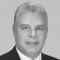 MGI World MGI Worldwide Latin America Area member Luis F Taveras, accounting firm MGI LT Accountant & Asociados Asesores y Auditores, black and white profile picture