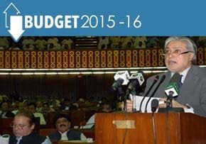 MGI World MGI Asia Area news item, Pakistan Budget 2015-2016 image of budget being read out