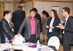 MGI World MGI Worldwide Asia Area meeting, 2015 Seoul, delegates during break image