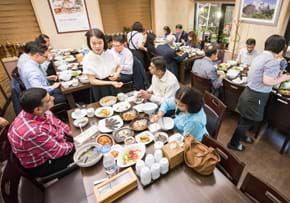 MGI World MGI Worldwide Asia Area meeting, 2015 Seoul, delegate traditional Korean dinner image