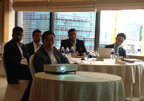 MGI World MGI Worldwide Asia Area meeting, 2015 Seoul, meeting room and delegates image landscape