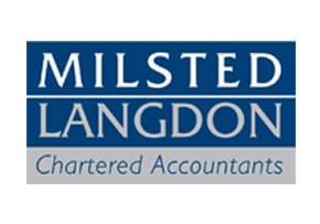 MGI World MGI Worldwide, UK & Ireland Area member firm chartered accountants Milsted Langdon logo