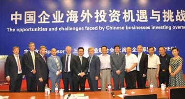 MGI World MGI Worldwide, UK & Ireland Area news item, Chinese Businesses investing overseas forum, group photo