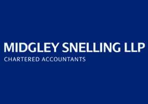 MGI World MGI Worldwide, UK & Ireland Area member firm chartered accountants Midgley Snelling logo