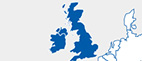 MGI World MGI Worldwide accounting network, UK & Ireland America Area thumb map