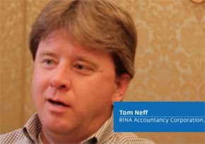 MGI World MGI Worldwide accountants network member Tom Neff, from CPA RINA accounting firm USA