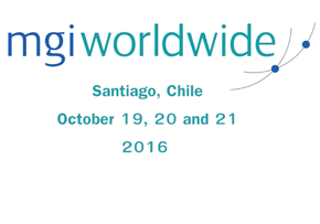 MGI World MGI Worldwide accounting organisation, Global AGM 2016, Santiago Chile dates slide