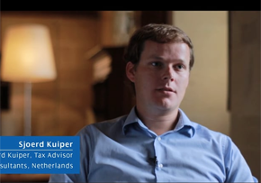 MGI World MGI Worldwide accounting network member Sjored Kuiper, from tax firm Verstegen, profile picture